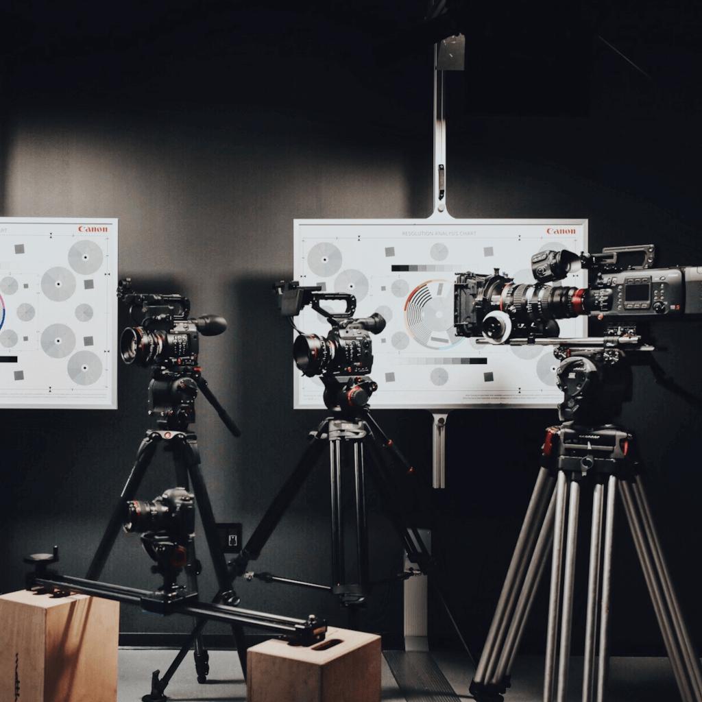 Câmeras de Vídeo Profissionais